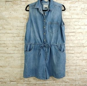 UNIVERSAL THREAD  COTTON SHORTS ROMPER X
